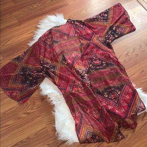 American Eagle Kimono